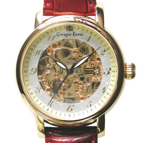 [ジョルジオ ロッシ]Giorgio Rossi 腕時計 GR0001-GP スケルトン(裏、表) メンズ [正規輸入品]