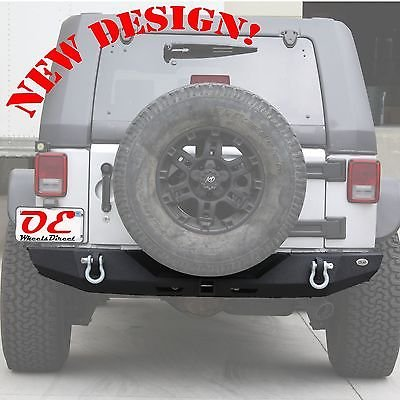 KO Off Road Jeep Wrangler JK Steel High Clearance Rear Bumper