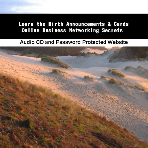 Learn The Birth Announcements & Cards Online Business Networking Secrets front-898641