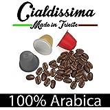 cialdissima 100 Kapseln Nespresso Kompatibel 100% Arabica,...