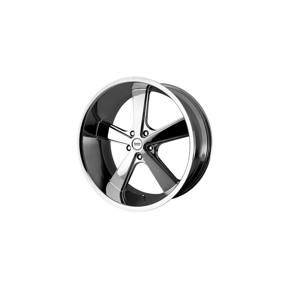22x9 American Racing NOVA (Chrome) Wheels/Rims 5x115 (VN70122915215) Automotive