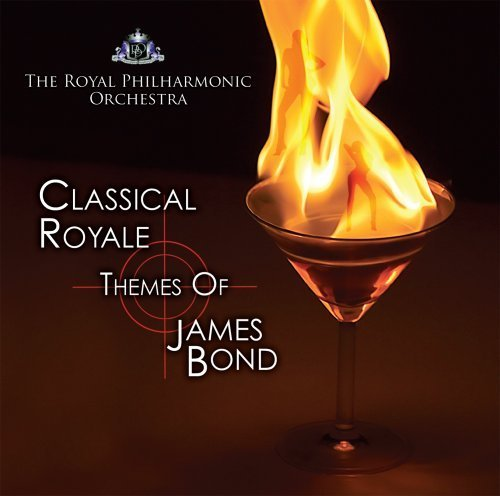 Original album cover of Classical Royale Themes of James Bond by Royal Philharmonic Orchestra (2008-11-24) by James Bond themes