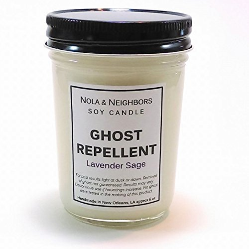 New Home Candle - Fall Candle - Ghost Repellent - Lavender Candle - Sage Candle - Herbal Candle - Best Seller - Haunted Home Remedy - Gift wrap and messaging available (Housewarming Gift Candles compare prices)