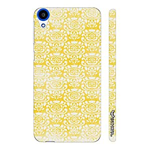 HTC Desire 820 THE YELLOW INDIAN ART designer mobile hard shell case by Enthopia