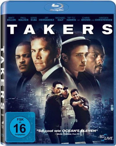 Takers [Blu-ray]