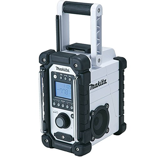 Makita XRM02W 18V Compact Lithium-Ion Cordless Job Site Radio, Tool Only (Work Side Radio compare prices)