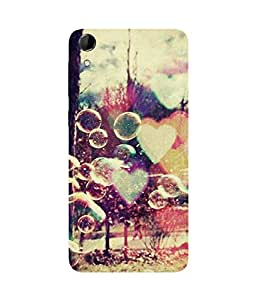 Hearts And Balloons HTC Desire 728 Case