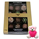 Flavorful Collection Assorted Truffles With Teddy - Chocholik Belgium Chocolates