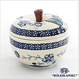 [Zaklady Ceramiczne Boleslawiec/ザクワディ ボレスワヴィエツ陶器]リンゴのポット12.5cm-273 ポーリッシュポタリー