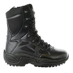 RB8875 Reebok Men\'s Stealth Uniform Boots - Black - 8.0 - M