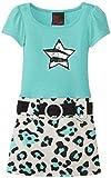 Girls Rule Little Girls Sequin Star Twofer Dress