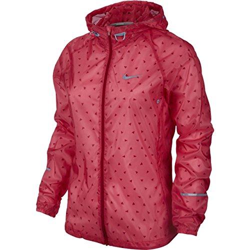 NIKE Ladies Vapor Cyclone Jacket, Red, XS