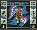 WINTER GAMES - Commodore 64 - Cassette video game