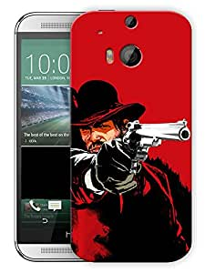 """Humor Gang Redemption RedPrinted Designer Mobile Back Cover For """"HTC ONE M8"""" (3D, Matte, Premium Quality Snap On Case)..."""