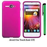 Alcatel One Touch Sonic LTE (2014 Released) Phone Case - Premium Pretty Design Protector Hard Cover Case + 1 of... by WAM Alcatel One Touch Sonic LTE