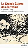 La Grande guerre des écrivains
