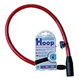 Oxford Hoop Essential Cable Lock - Red
