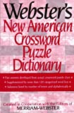 img - for Webster's New American Crossword Puzzle Dictionary (June 19,1996) book / textbook / text book