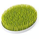 Escurridor Bandeja de secado para Biberones y Vajilla Infantil con Diseño de Césped Color Verde 29cm