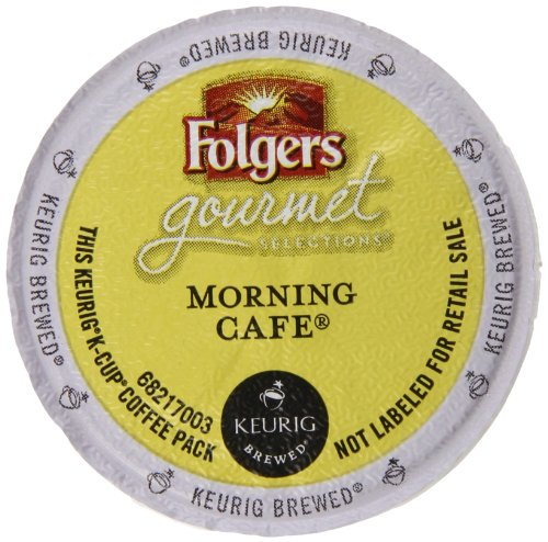 Folgers Gourmet Sele Countions Morning Cafe Packs, 72 Count