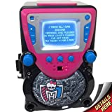 Sakar Monster Large CD/CDG All-In-1 Karaoke Machine (Black/Pink)