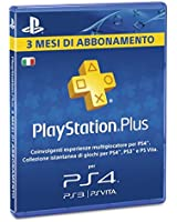 Playstation Plus Card 3 mesi