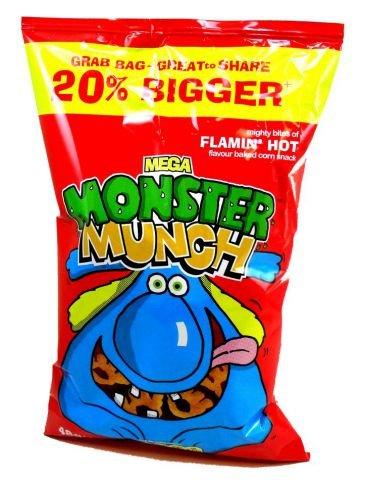Walkers Monster Munch Chips Flamin Hot