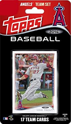 2014 Topps Los Angeles Angels of Anaheim Factory Sealed Special Edition 17 Card Team Set with Mike Trout, Albert Pujols Plus