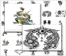 tattoo vorlagen paket vier verschiedene motivgruppen elfen und engel japanische drachen und. Black Bedroom Furniture Sets. Home Design Ideas