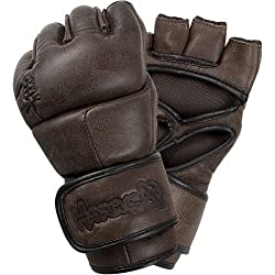 Hayabusa Official MMA Kanpeki Elite 2.0 4 oz. MMA Gloves - Brown