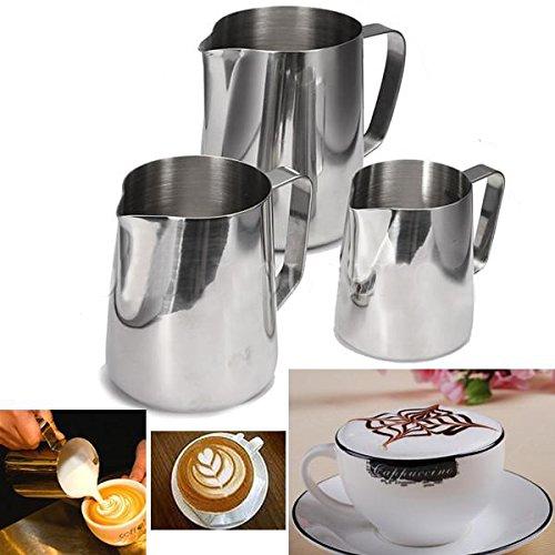 Aliciashouse Cappuccino café thé cappuccino cruche Garland tasse Latte pot à lait Craft-360 ml