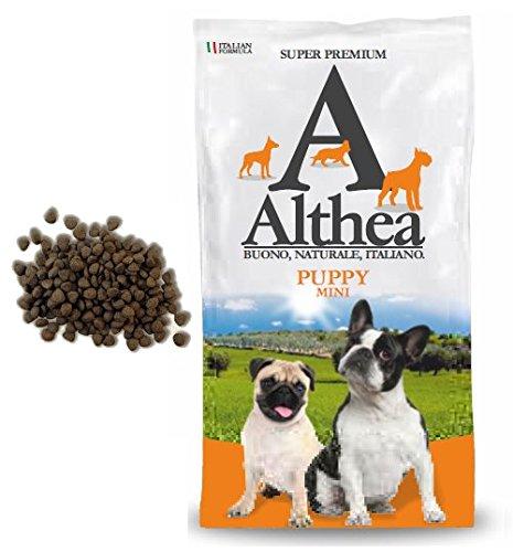 Althea Puppy Mini 2,5 kg - Crocchette alla carne per cuccioli di cane di taglia piccola, naturali al 100%