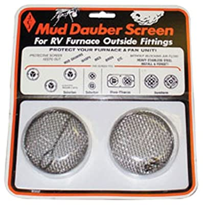 JCJ M-300 Mud Dauber Screen for RV furnace Outside Fitting