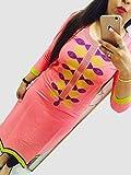 Kesu-Fahion-Womens-Embroidered-semi-stitched-Selfie-Kurti-In-Georgette-Fabric-KUKRT1017Free-SizeLight-Pink