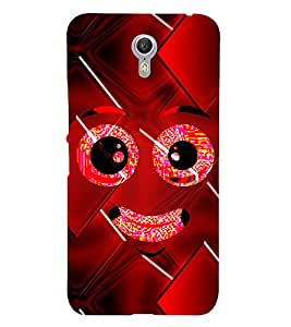 Smiley Cute Looks Cute Fashion 3D Hard Polycarbonate Designer Back Case Cover for Lenovo ZUK Z1