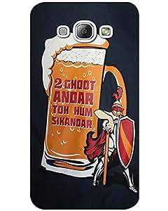 MobileGabbar Samsung Galaxy A7 Back Cover Designer Hard Case