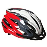 Cycle Helmet Arina Quest Red White Medium 54-58cm