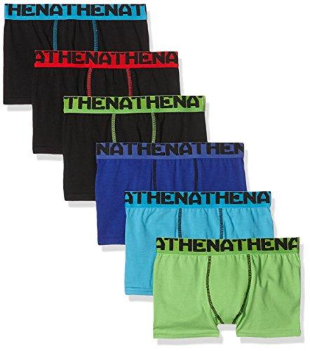 athena-graphic-boxer-lot-de-6-garcon-multicolore-noir-noir-noir-turquoise-indigo-vert-fr-3-ans-taill