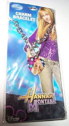 Hannah Montana Guitar Pick Charm Bracelet - 1