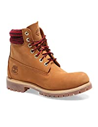 Timberland Earthkeepers Men's Iconic 6 Inch Boots, Plaid Wheat