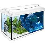 Tetra 244900 AquaArt LED Complete Aquarium Set, 60 L, White