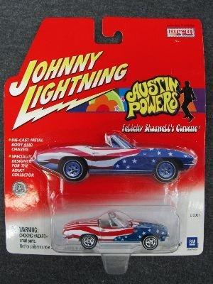 Johnny Lightning Austin Powers Felicity Shagwell's Corvette - 1