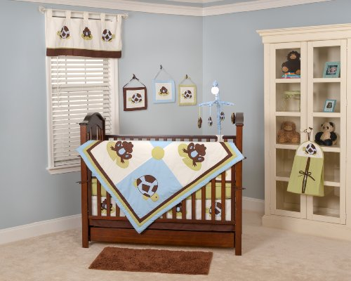 Nursery-To-Go Mr. and Mrs. Pond 10 Piece Bedding Set
