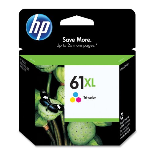 HP 61XL Tri-color High Yield Original Ink Cartridge (CH564WN)