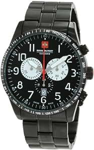 Swiss Military Herren-Armbanduhr XL Red Star Analog Edelstahl 06-5R4-13-007