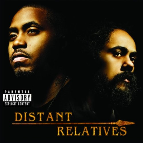 Nas &  damian marley - Distant relatives (Cover - Tracklist)
