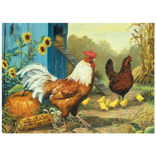 Cheap Outset Media Country Chickens 1000 Piece Jigsaw Puzzle (B004UMDXCQ)