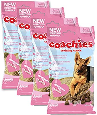 Coachies Puppy Training Treats 4 x 75 grams