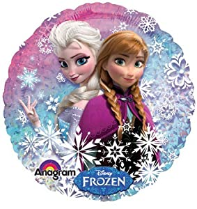 """Disney's Frozen Standard Holographic Balloons 18"""" (2 Balloons) from Anagram"""