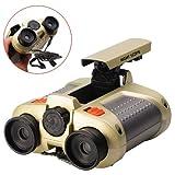 JYW-1226 4x30mm Binoculars Telescope Night Scope w/ Pop-Up Light for Children Ages 6 & Up